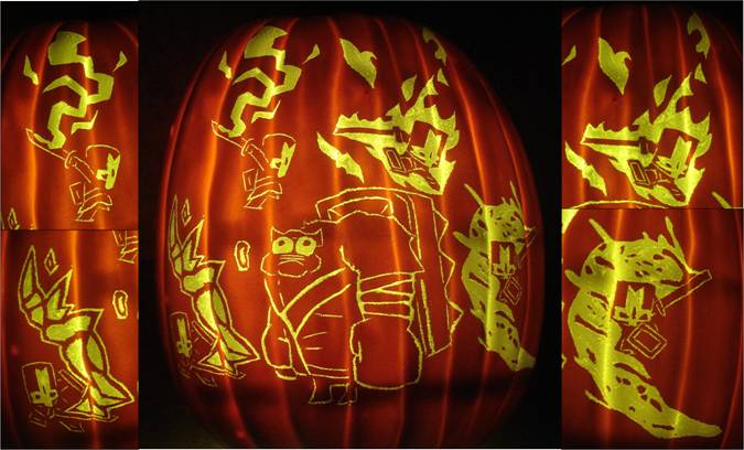 Castle Crashers Ambush Pumpkin