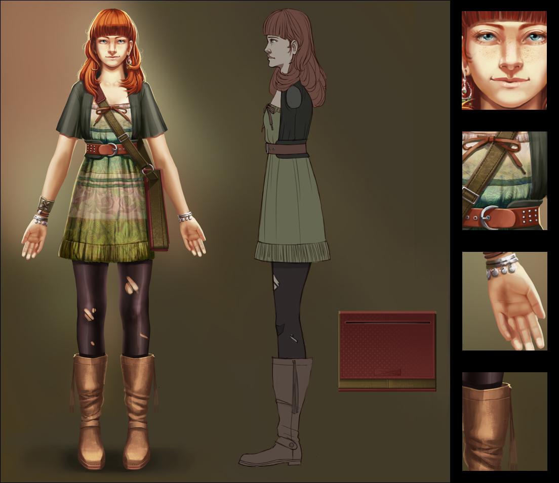 Miriam: character sheet