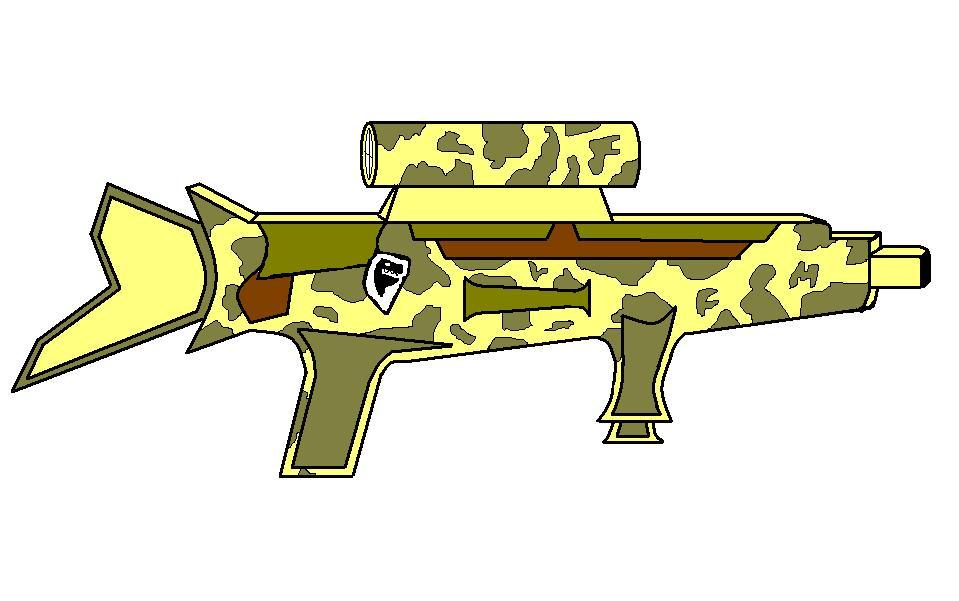 A High Caliber Sniper Riffle