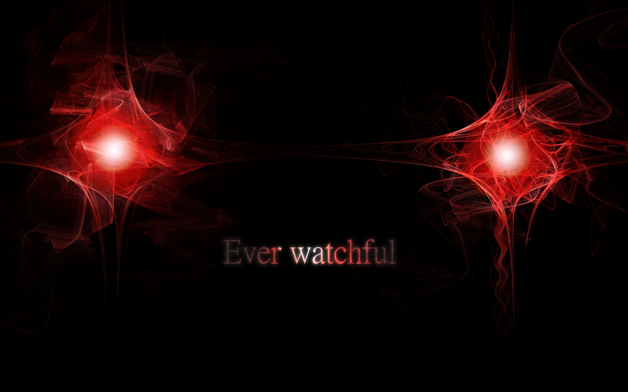 Ever watchful...
