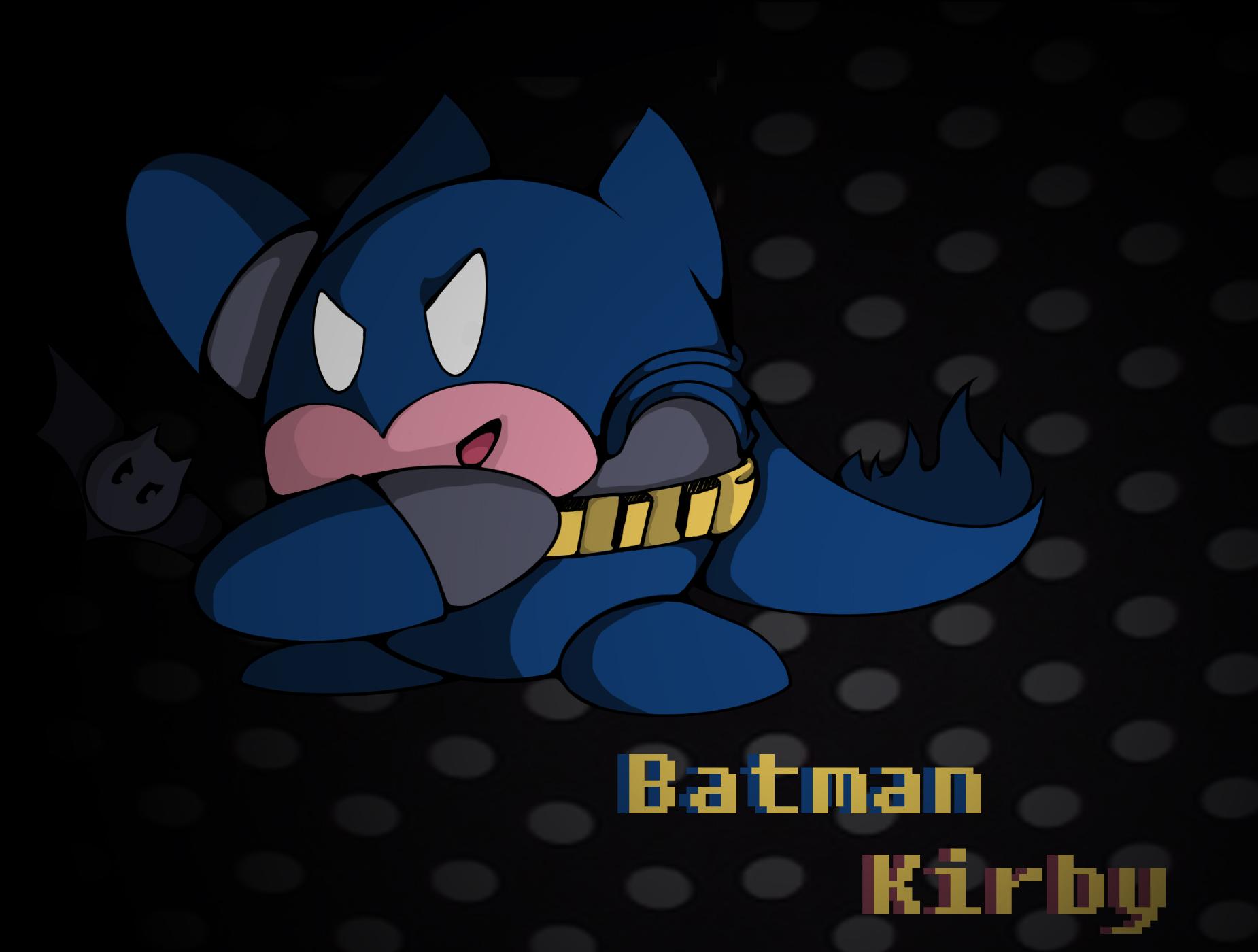 Kirby -Batman SpeedPaint