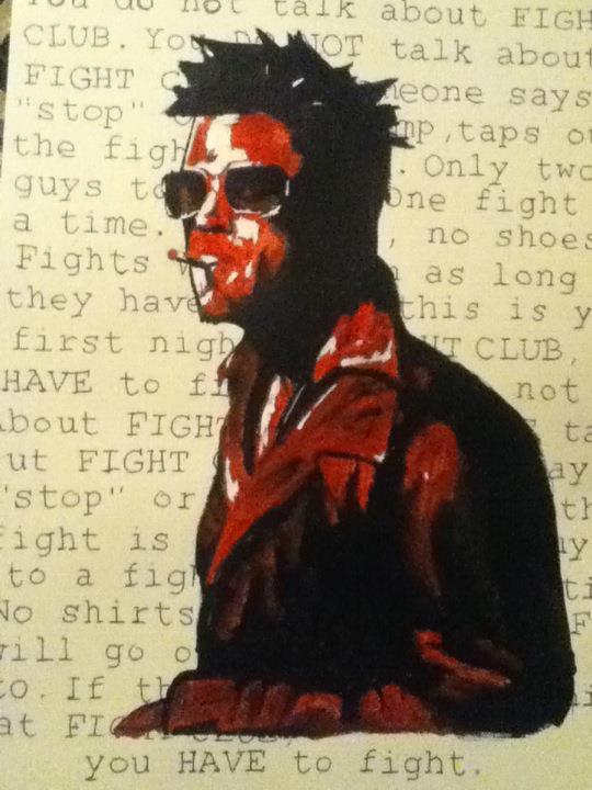 Tyler Durden acrylic