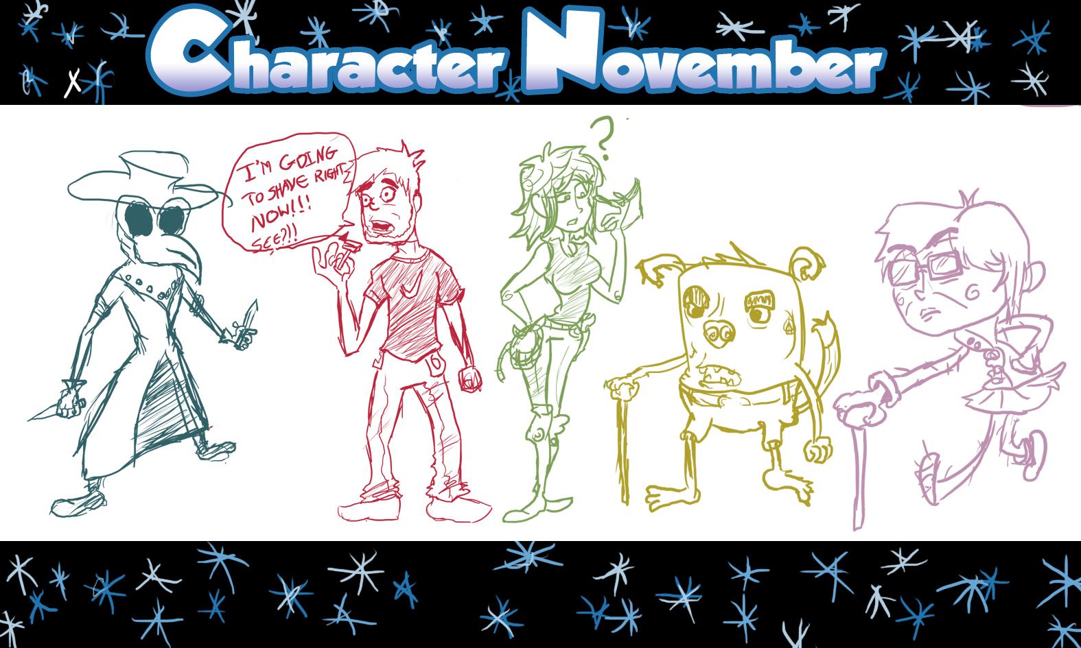 Character November Week 1