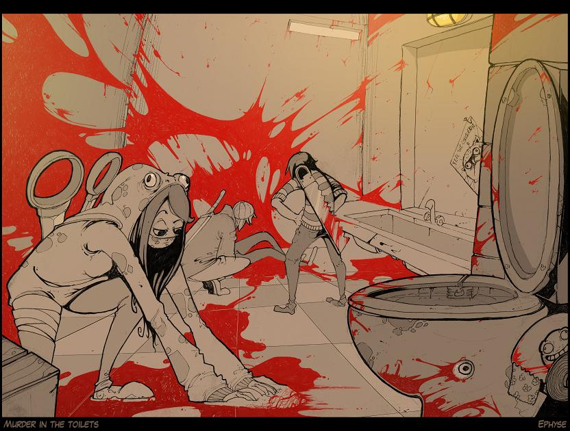 Murder in the Toilets