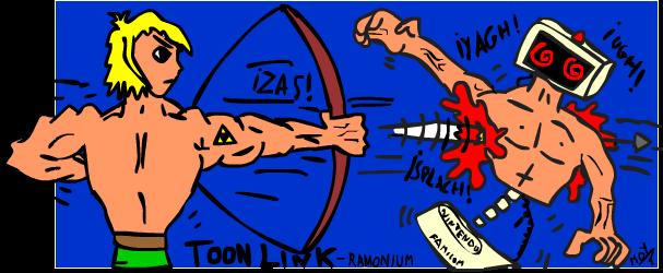 Toon link vs R.O.B.