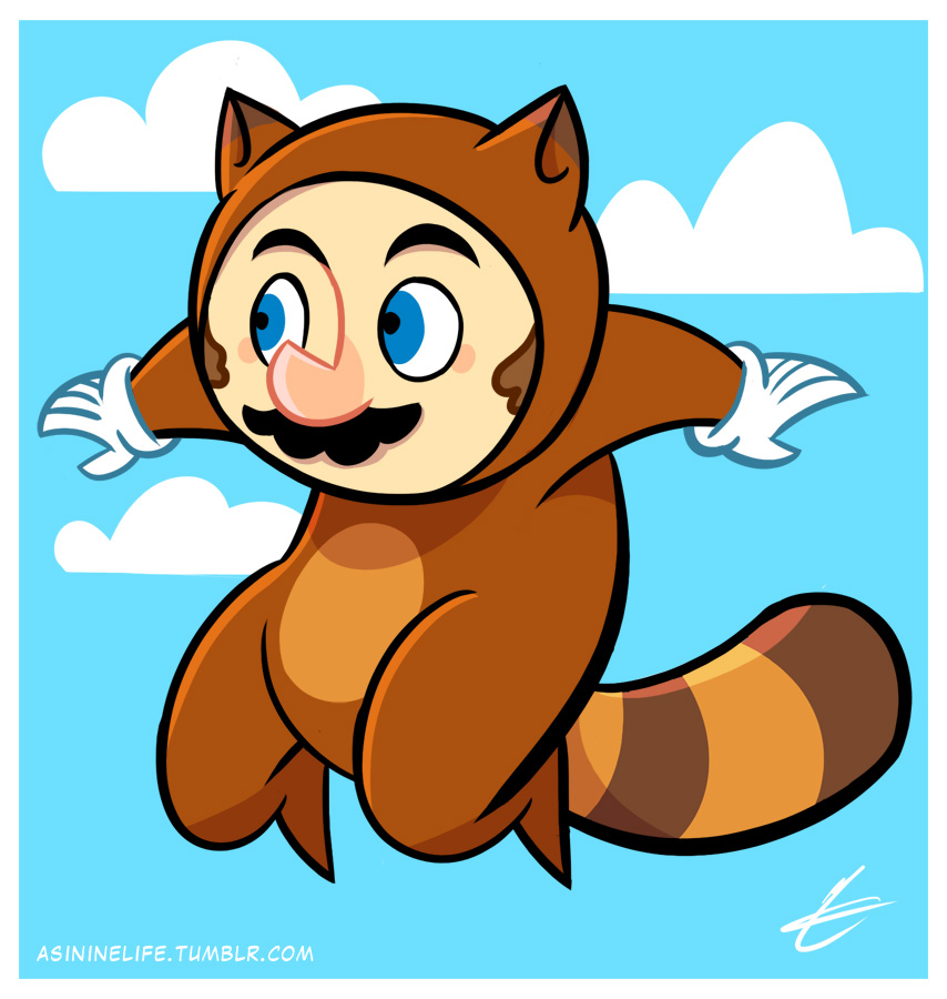 Tanooki Suit Super Mario