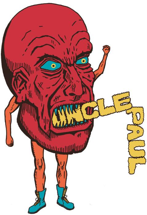 Uncle Paul Head Tshirt