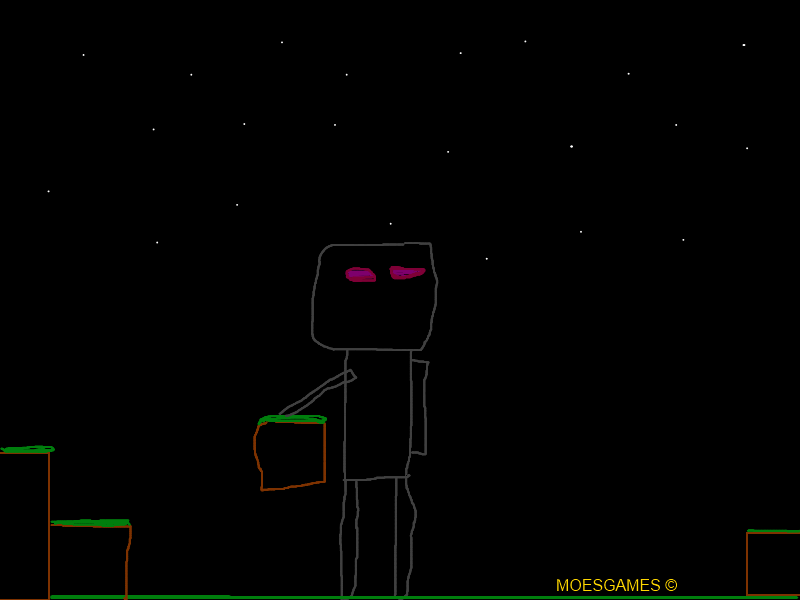 Minecraft - Enderman Art
