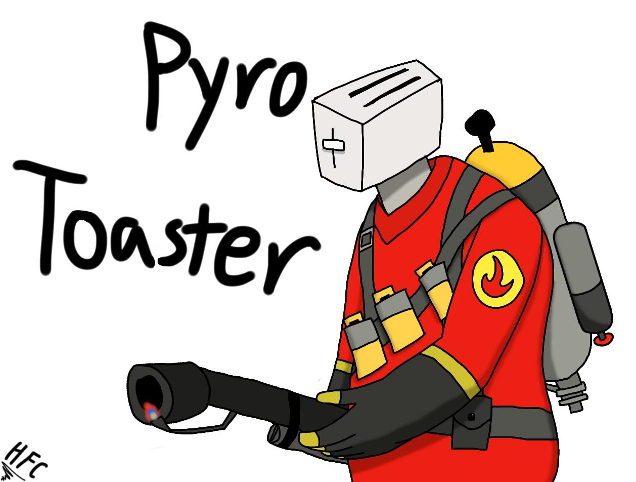 Pyro Toaster