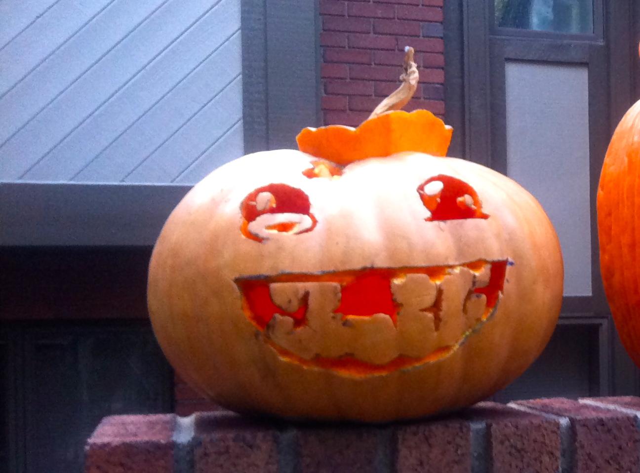 Meat Boy Pumpkin