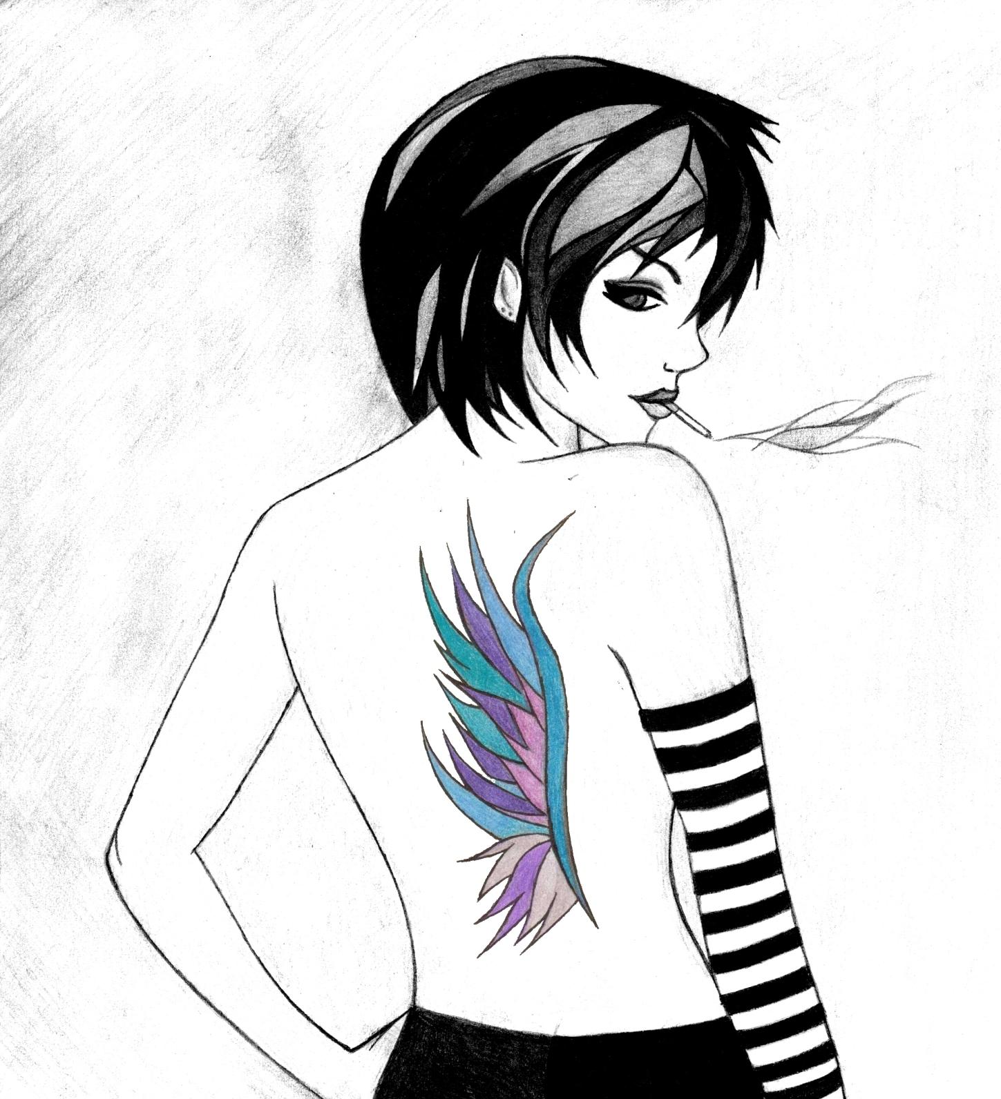 Cigarette Girl #1