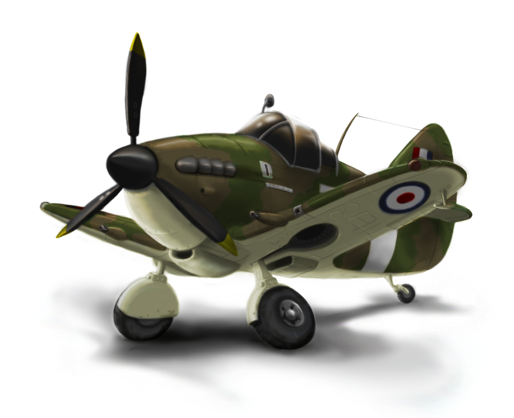 Toon Spitfire