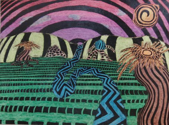 Crayonscape