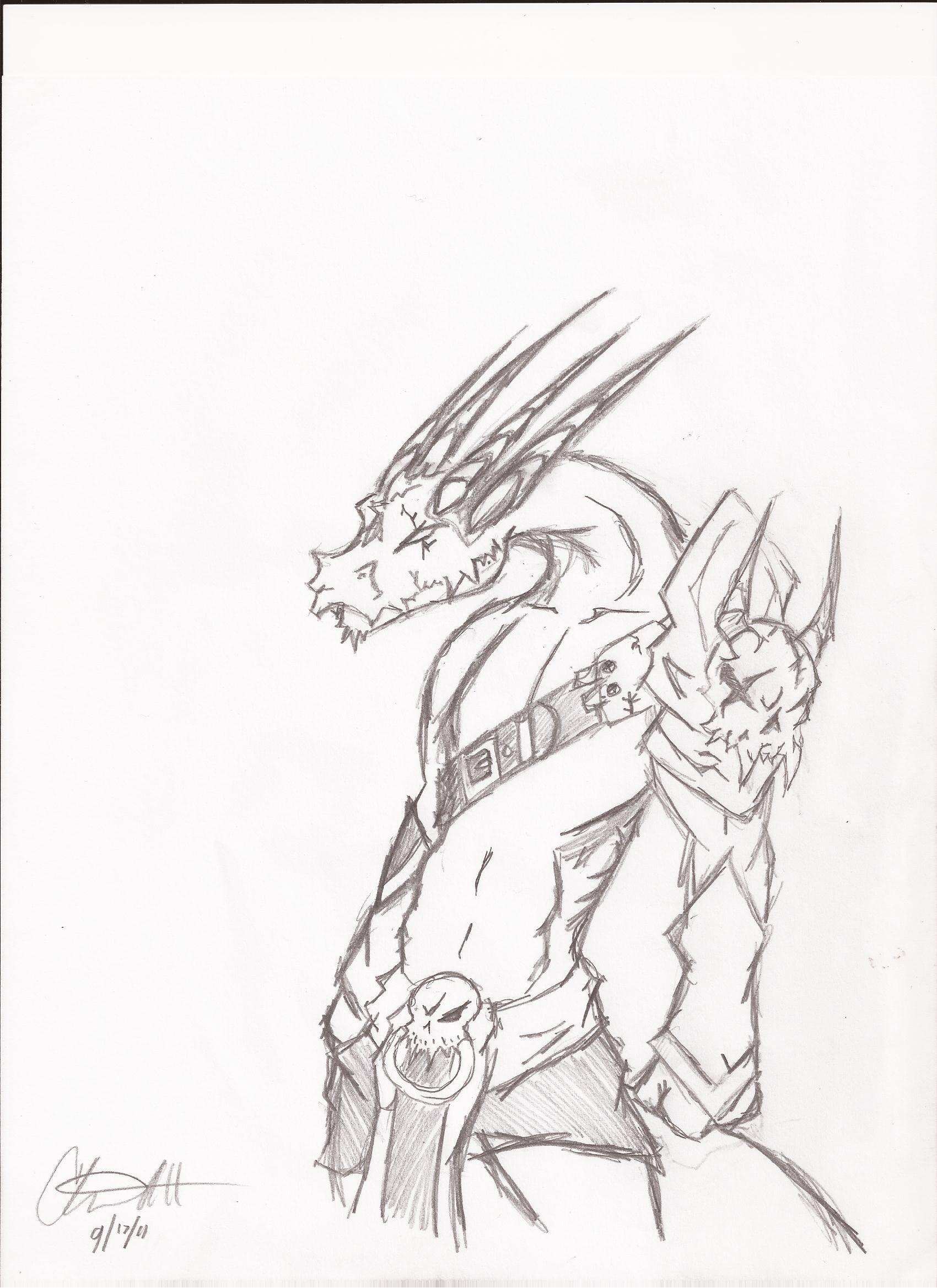 Dragon Guy Thingamajig