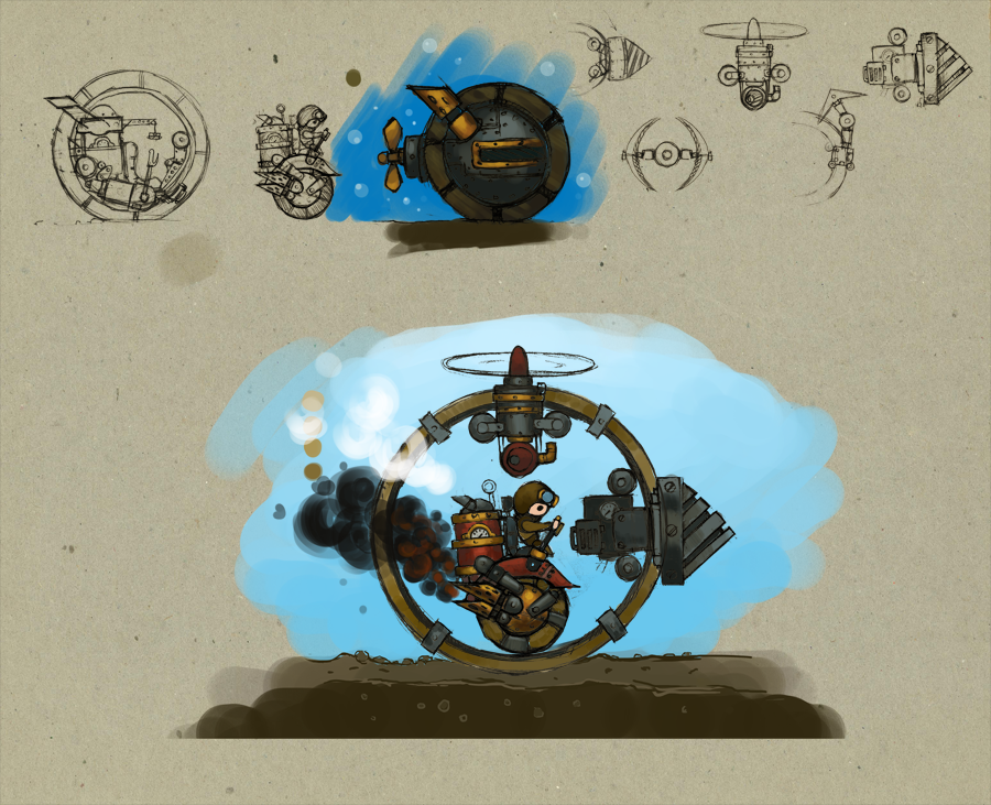 Some steam motorcycle