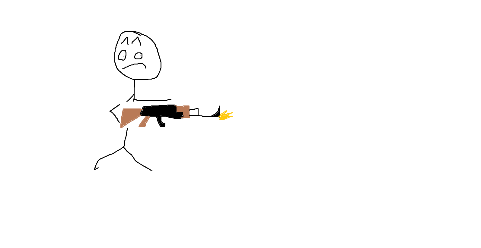A Guy With An AK47