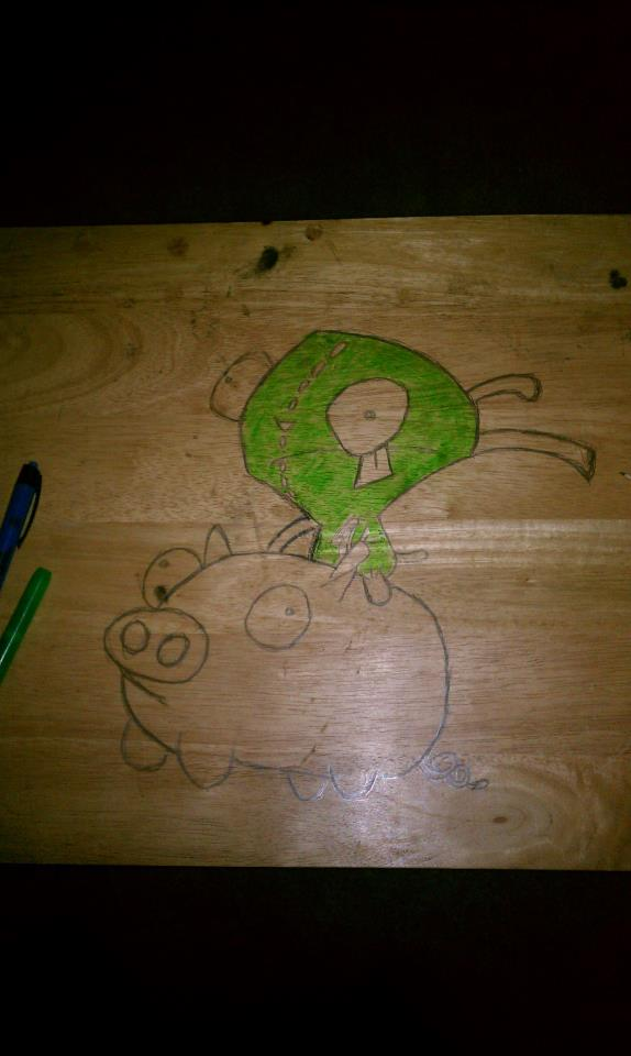 gir with color