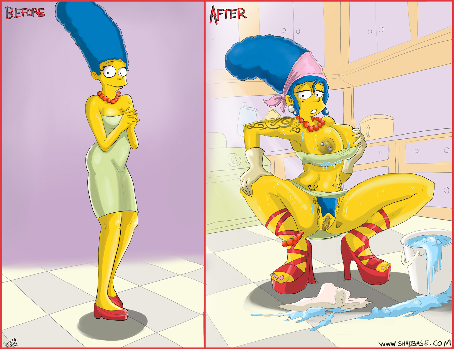 Corrupted Marge