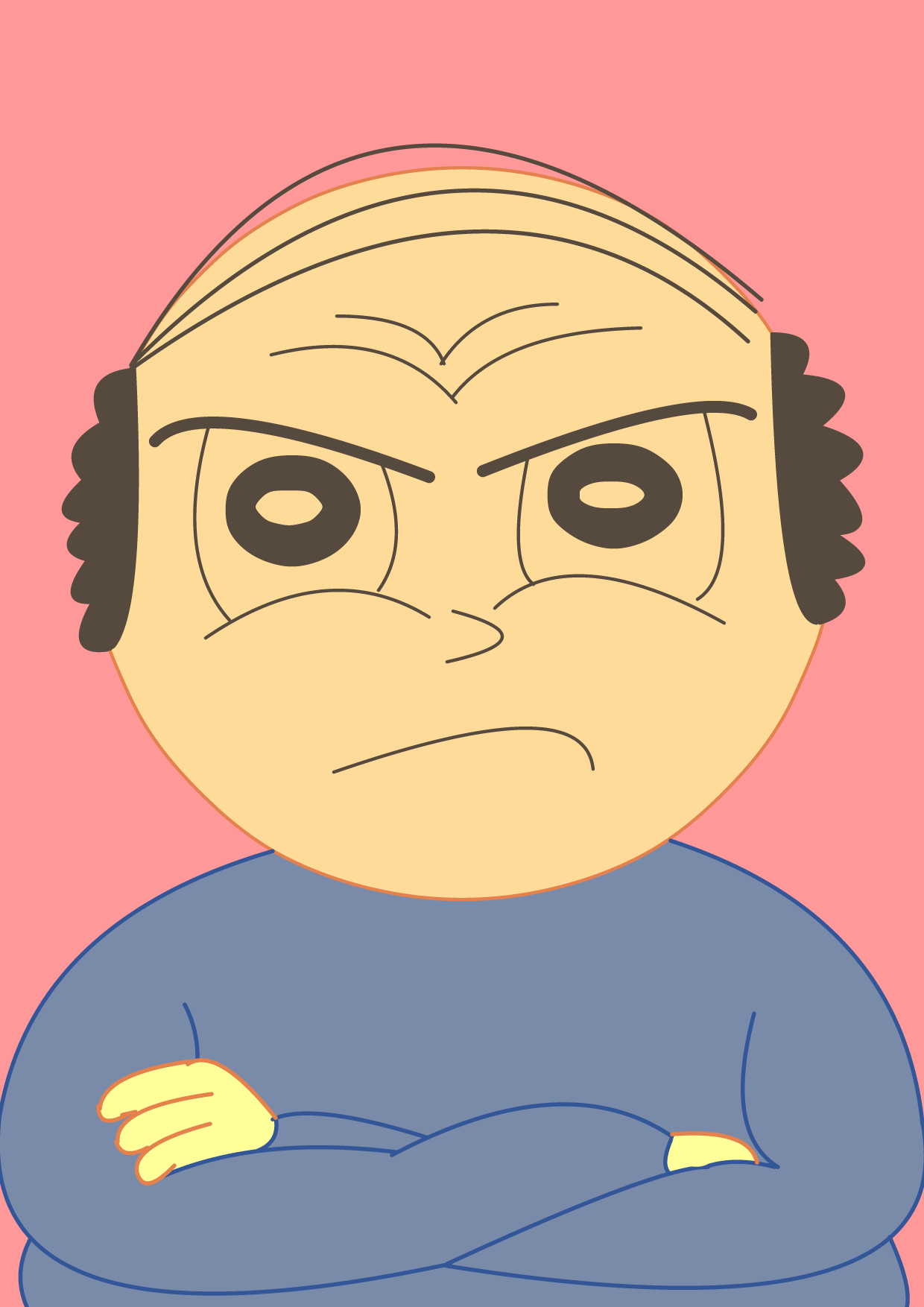 Angry Bald Guy