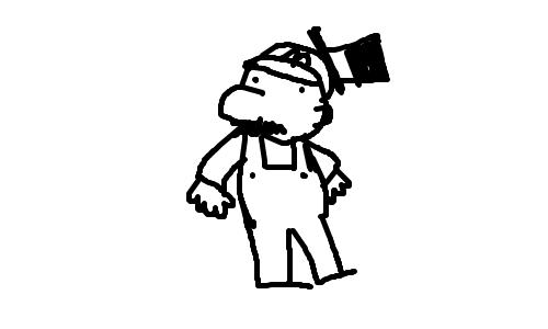 Genuine Fancy Mario