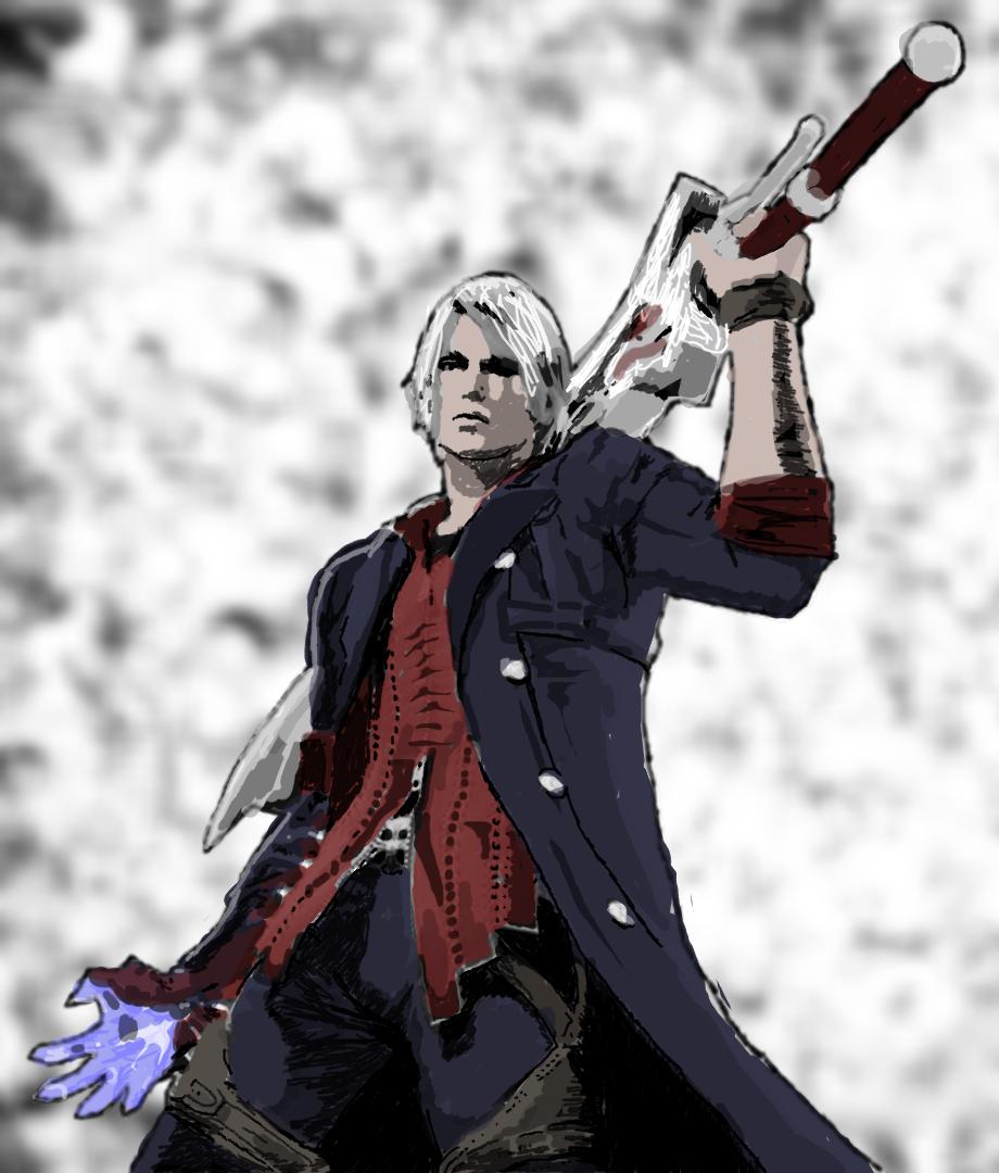 Devil May Cry: Nero Fanart