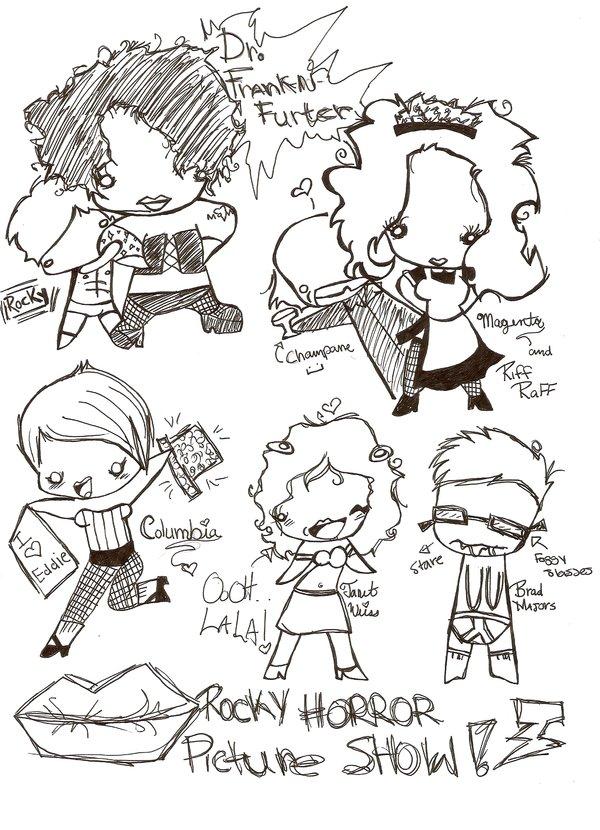 Rocky Horror Doodle Show!