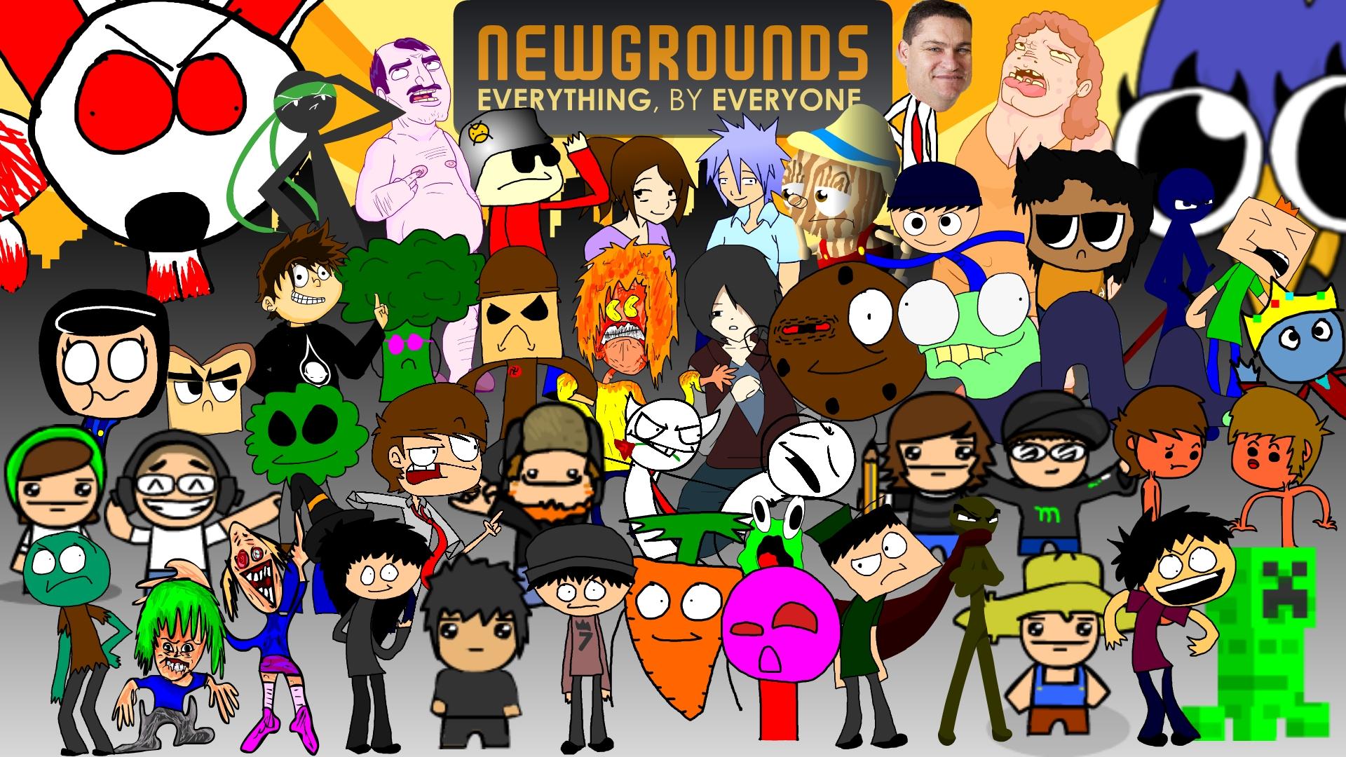 Amazing Newgrounds Poster!