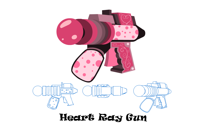 Heart Ray Gun