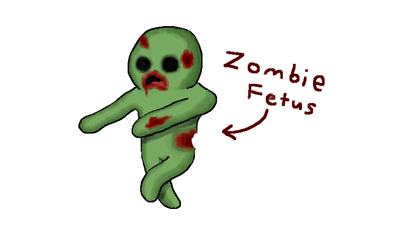 zombie fetus