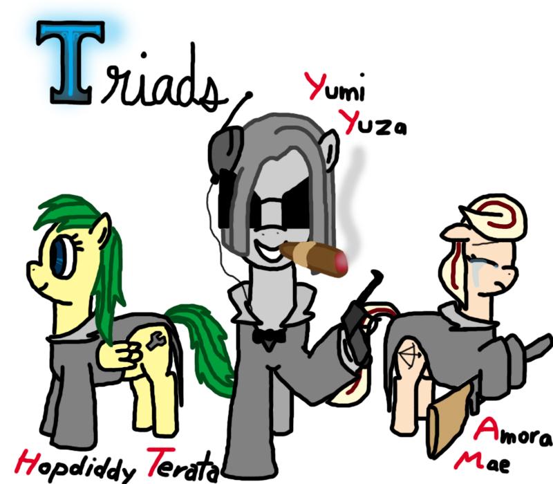Triads (OC Ponies)