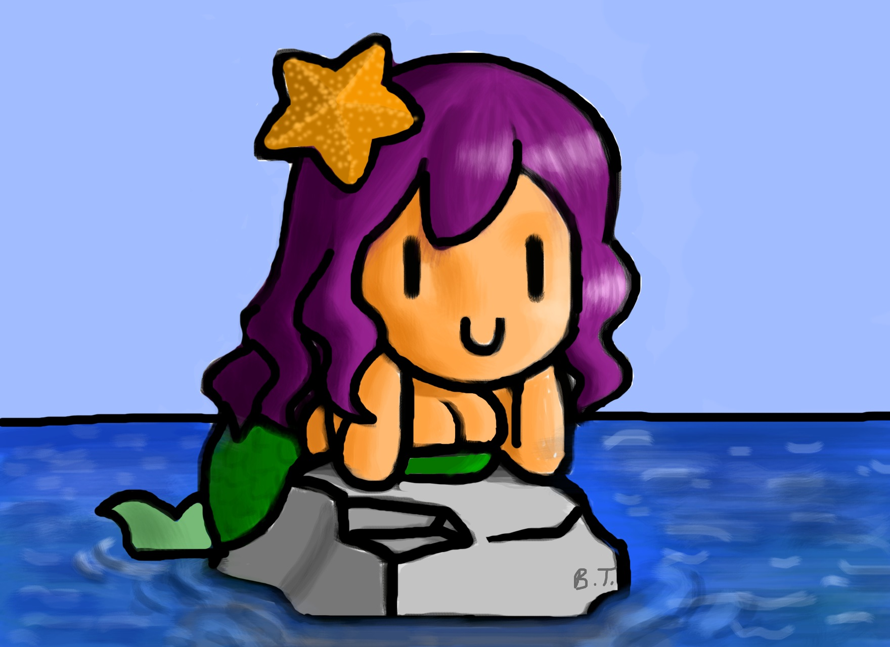 Chibi Mermaid
