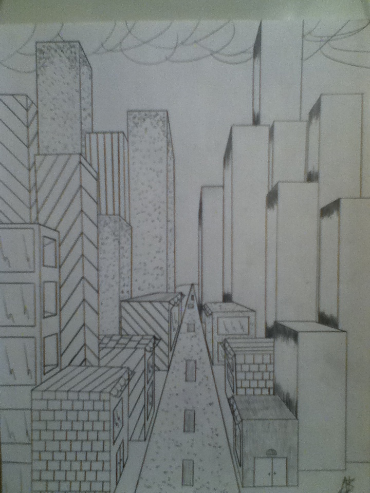 another perspective drawing