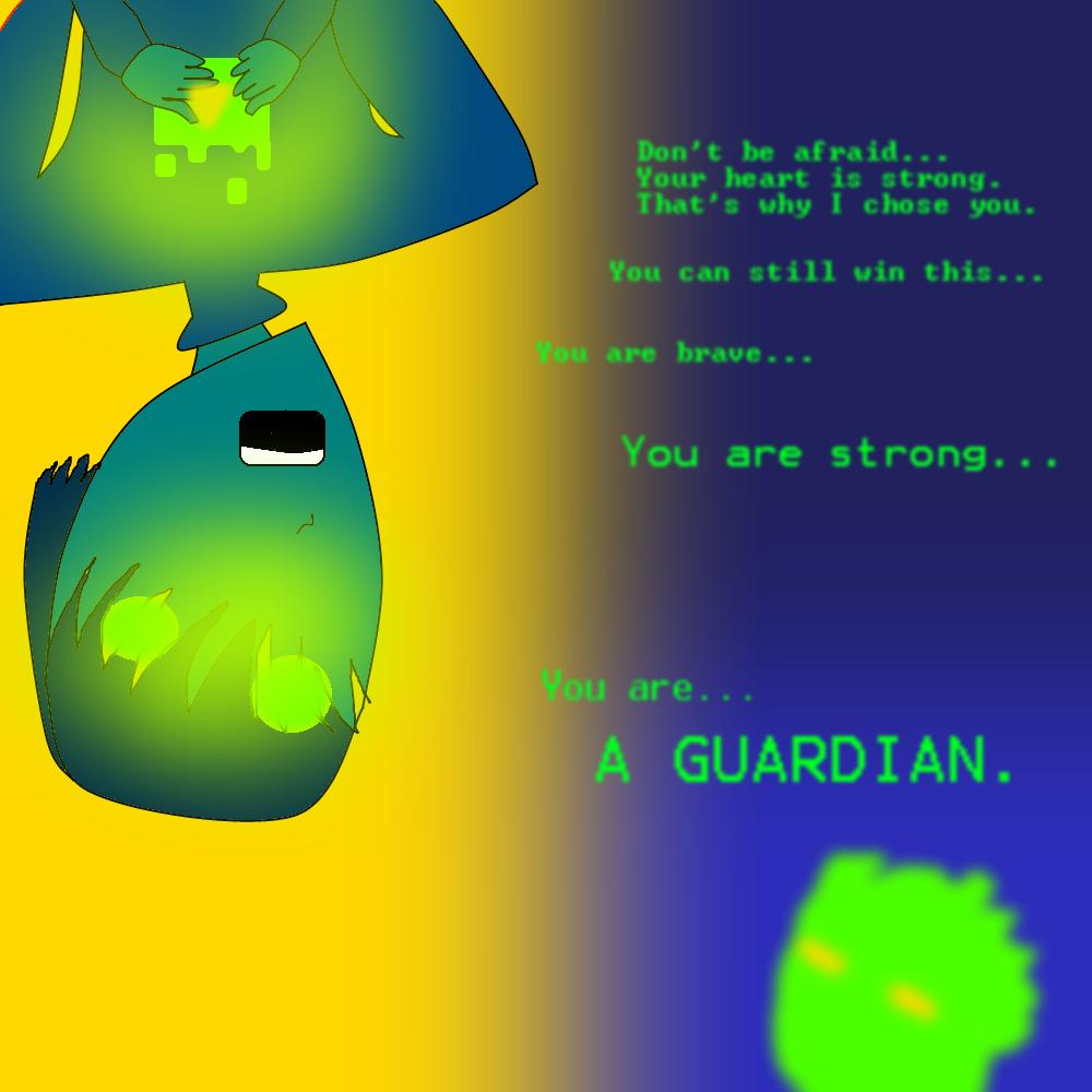The Guardian:Fan-art by Genna