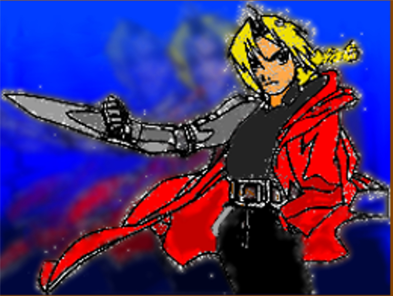 ed fma fan art