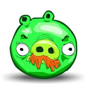 The Green Pig (Mustache)
