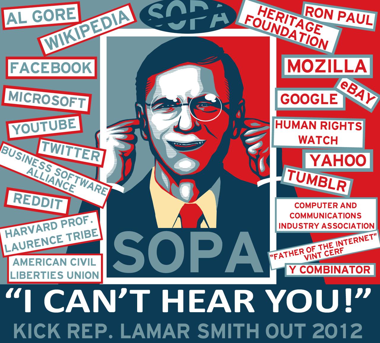 SOPA - I CAN'T HEAR YOU