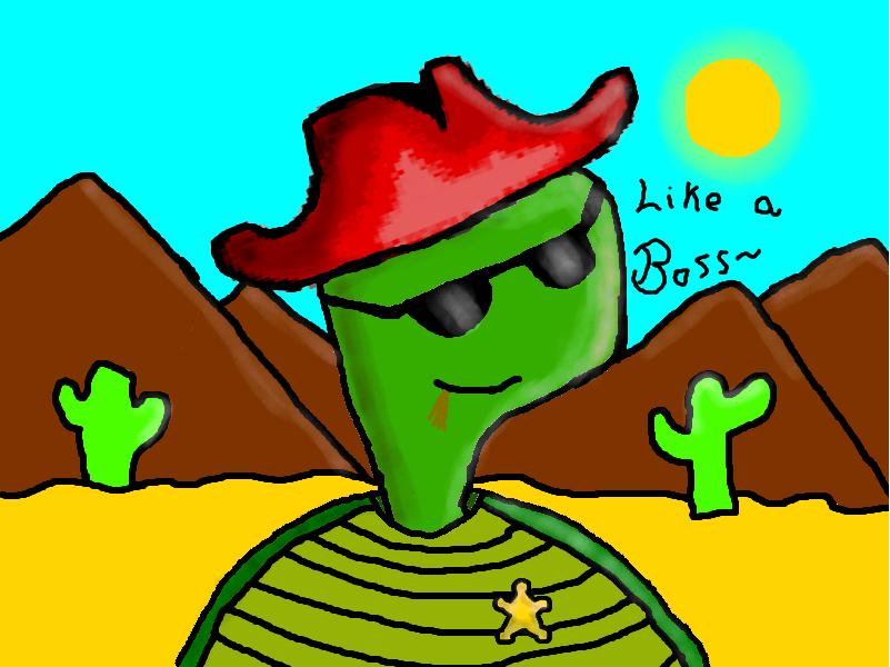 Cowboy Turtle