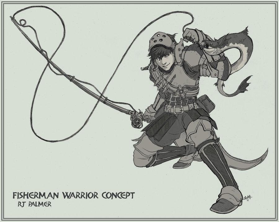 Fisherman Warrior