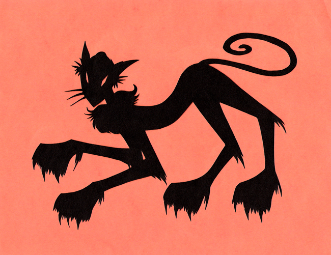 Papercuts - Monster Cat