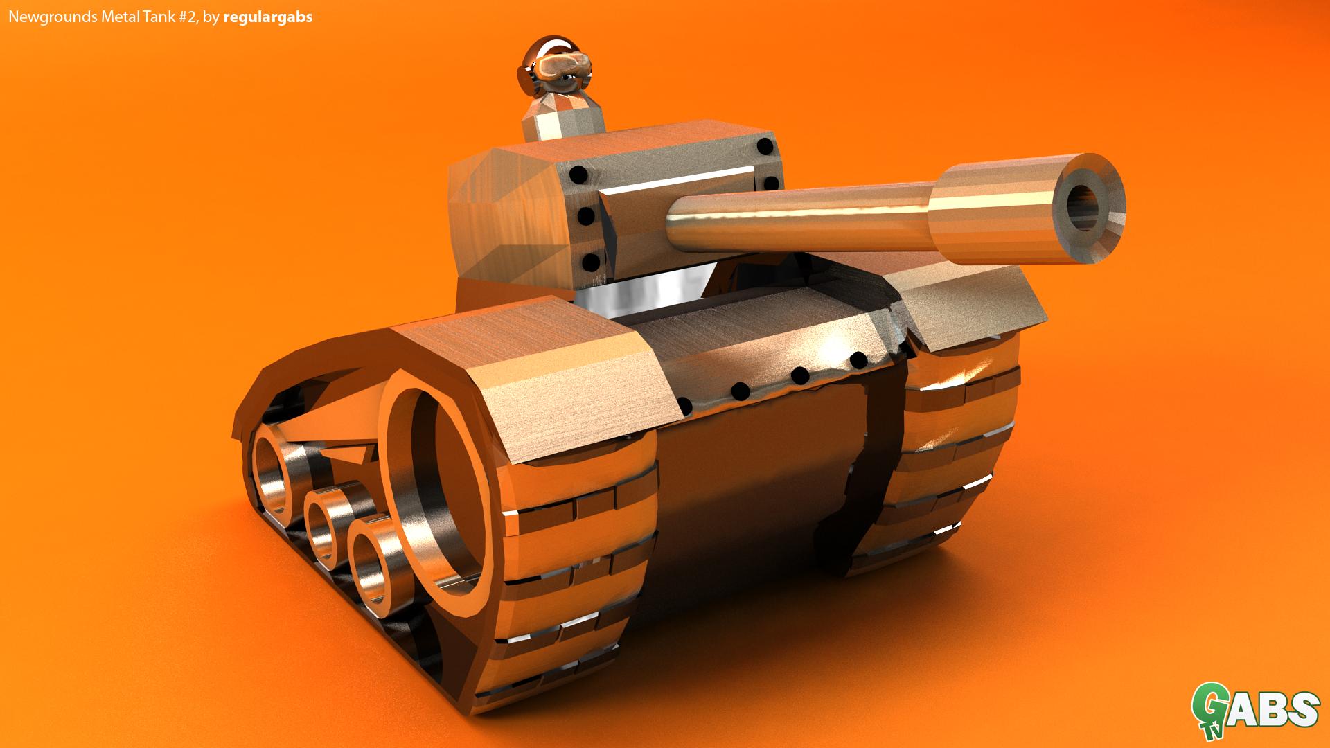 Metal Tank #2