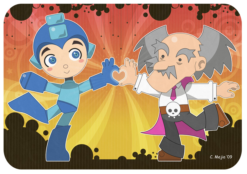 Mega Man Loves Wily
