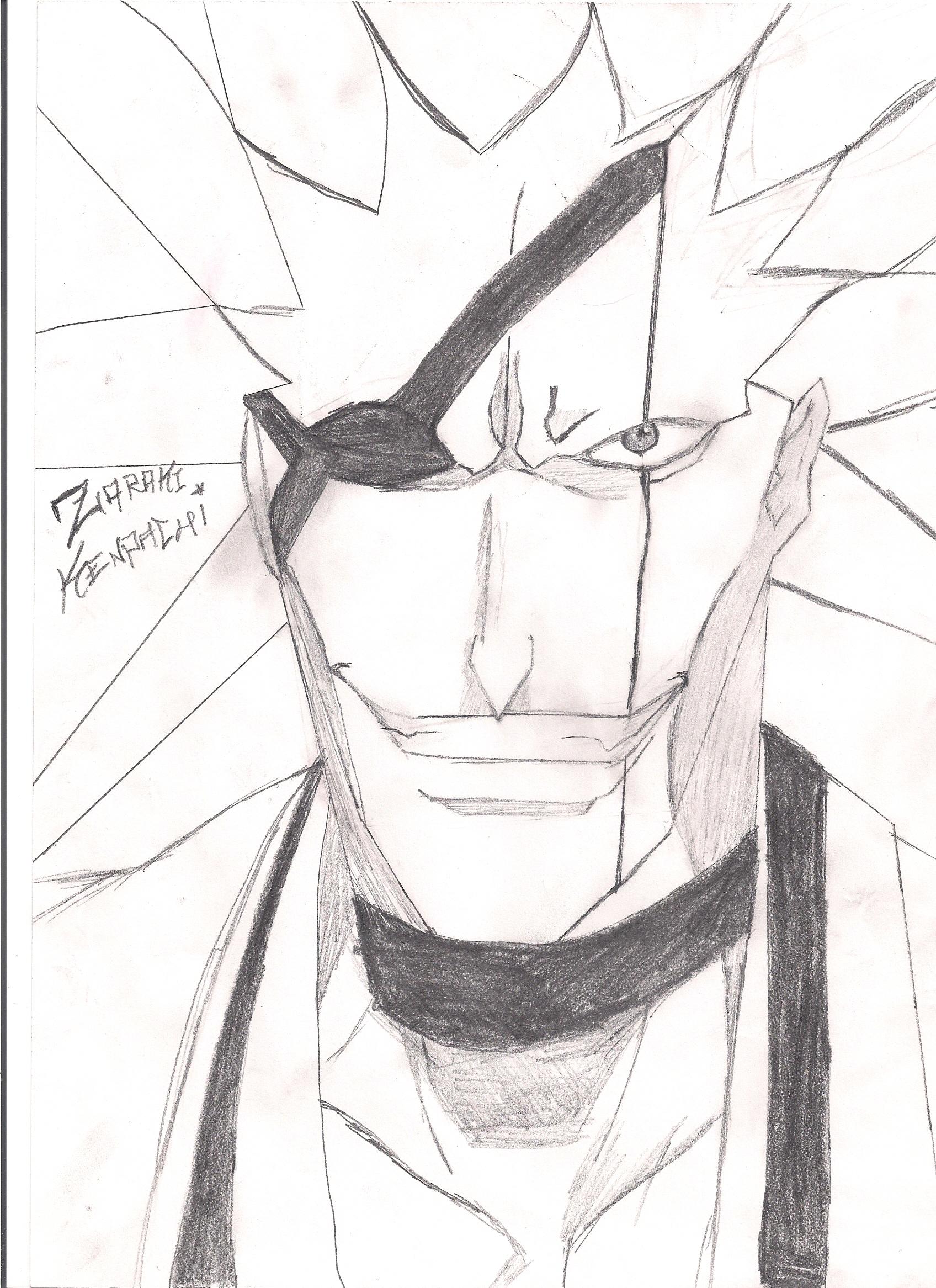 Zaraki Kenpachi Sketch