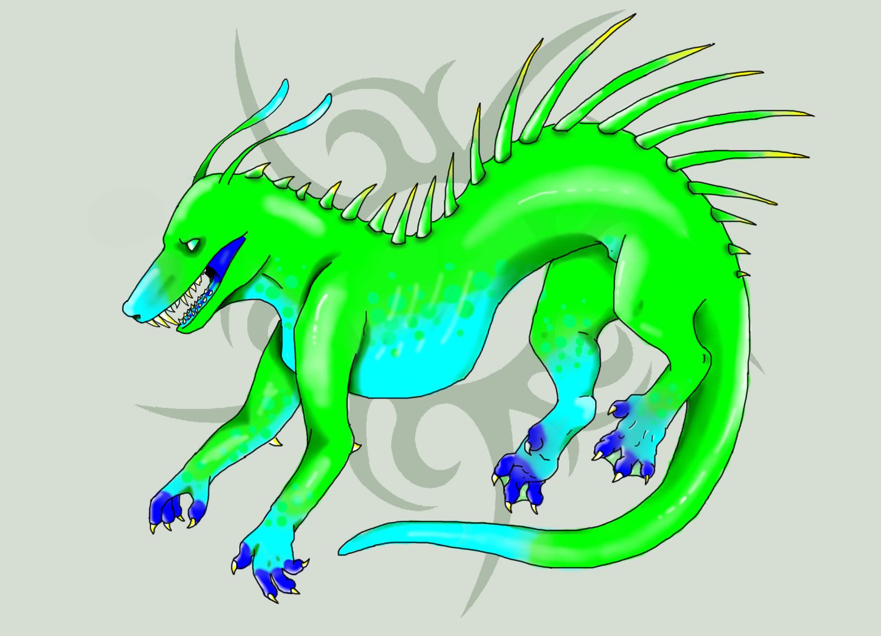 Deep Sea Spiny Dragon
