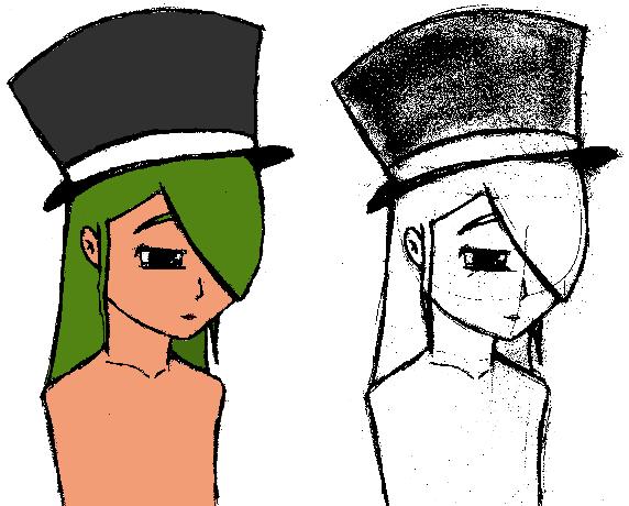 Shizuki with top-hat