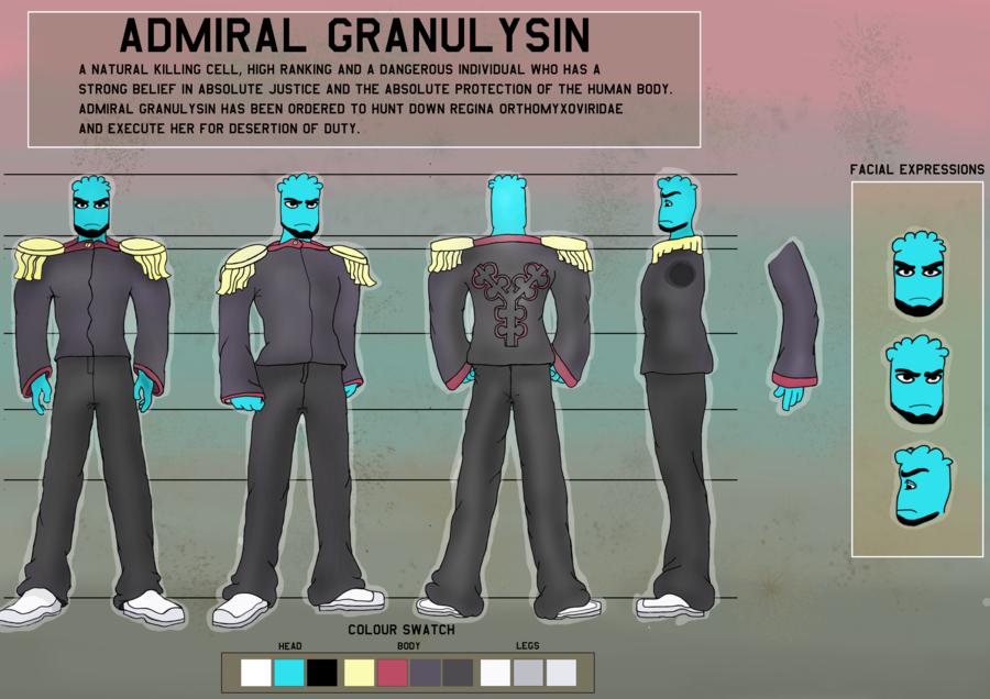 Admiral Granulysin
