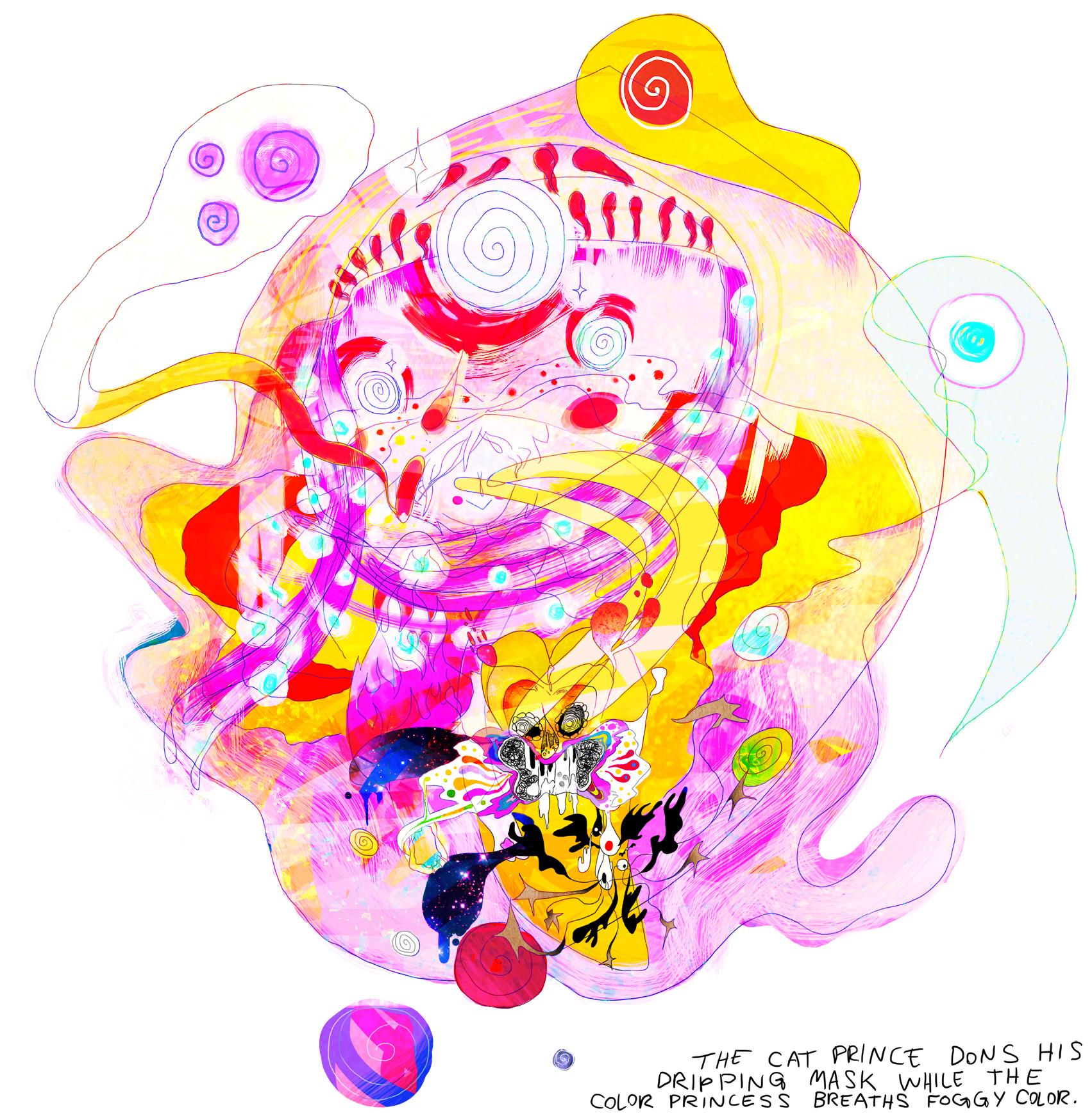 catprince,colorprincess