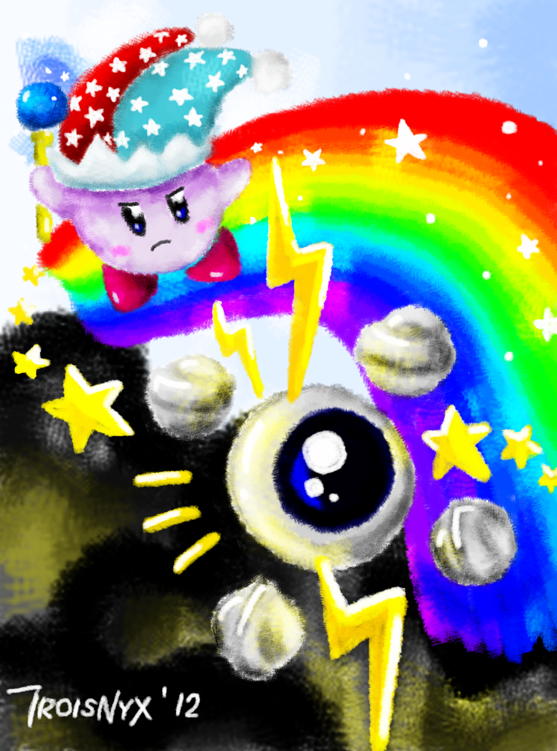 Mirror Kirby v Kracko Junior