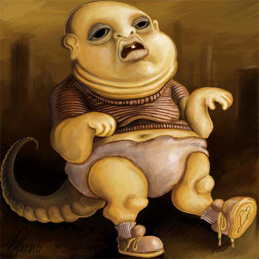 Reptilian Babby