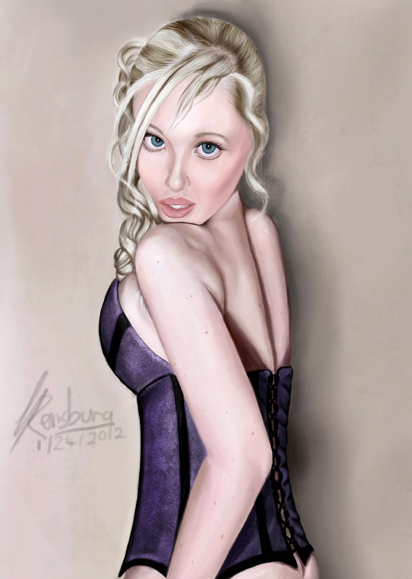 Kinky corset