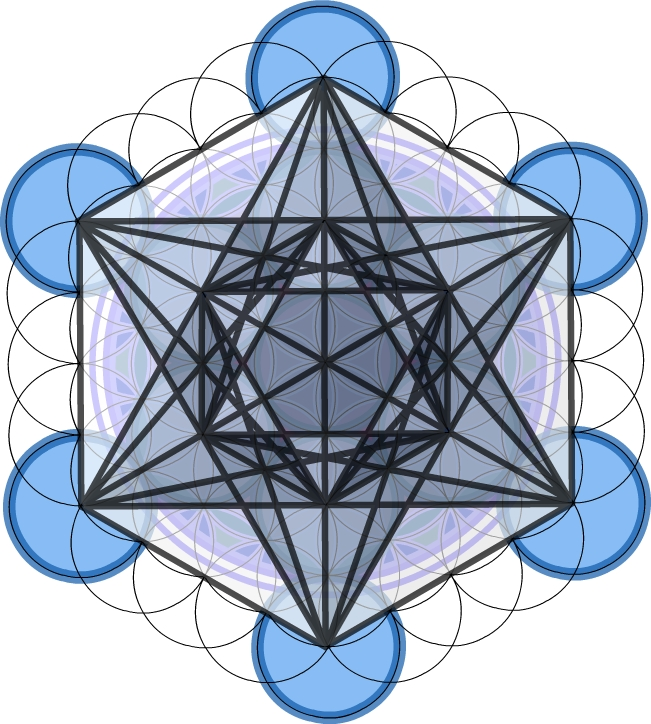 Metatron's Cube Upright